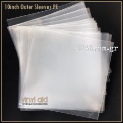 Vinyl record Outer sleeves 10inch PE
