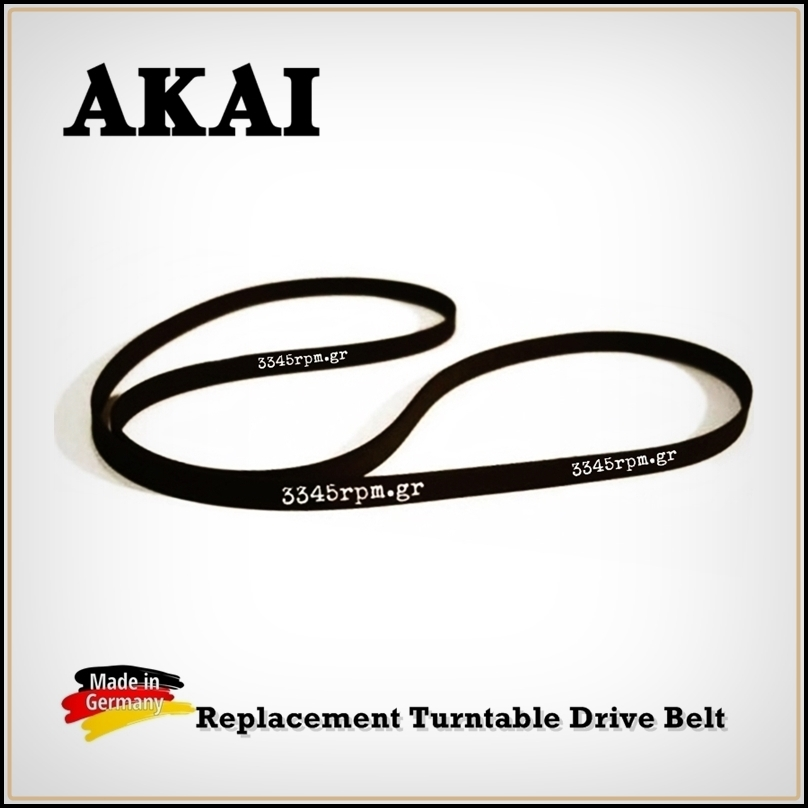 AKAI Turntable Drive Belt Replacement