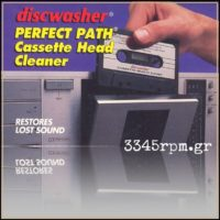 Discwasher Perfect Path Cassette Head Cleaner-