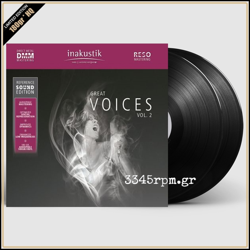 Great Voices Vol.2 - Vinyl 2LP 180gr HQ DMM RESO
