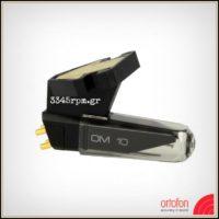 Ortofon OM-10 Turntable Cartridge with Elliptical Stylus