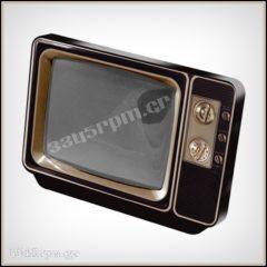 Photo Frame Retro TV