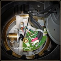 Technics SL-1200 1210MK2 PCB Phono Circuit Board RCA_SFDP122-22