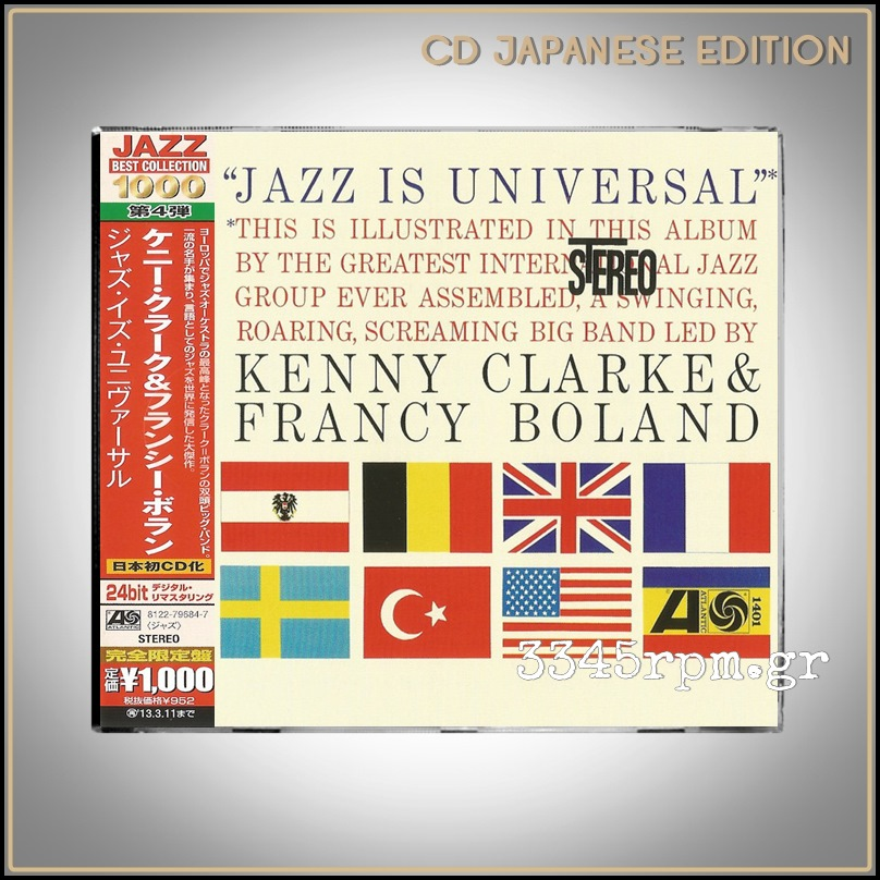Clarke, Kenny & Boland, Francy - Jazz Is Universal - CD Japan