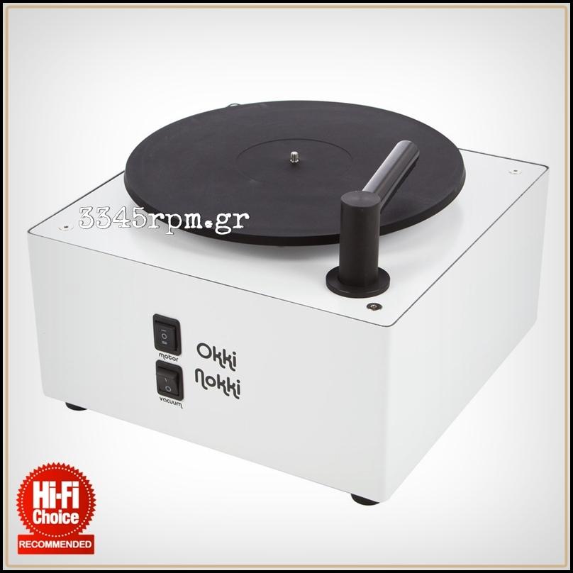 Okki Nokki Record Cleaning Machine - White