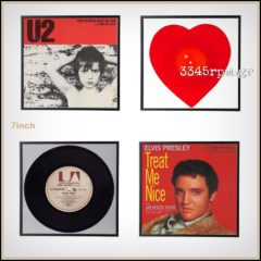 Vinyl Record Frame Display 45s-7inch