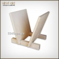 Wooden Storage Stand for 25 Vinyl Records_LP